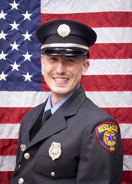 Firefighter/Paramedic Mike Comley